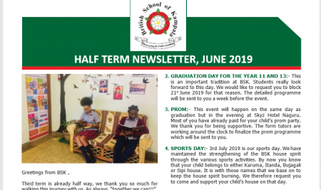 Secondary Mid-term 3 Newsletter