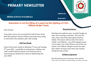 primary midterm newsletter