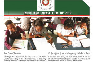 secondary end of year newsletter