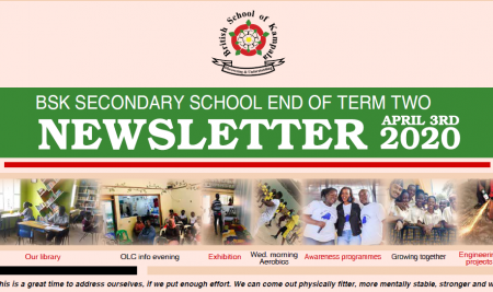Secondary End of Term 2 Newsletter