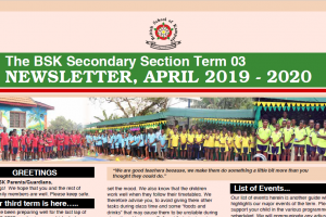 secondary term 3 news letter