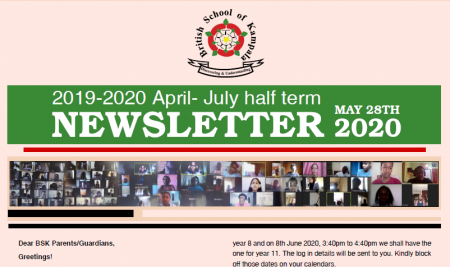 Secondary Mid-term Newsletter